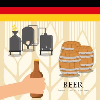 Birra tedesca di alta qualità