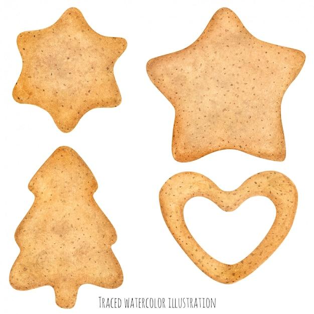 Biscotti fatti in casa con lo zucchero allo zenzero