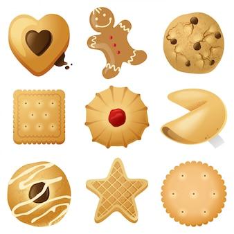 Biscotti impostati