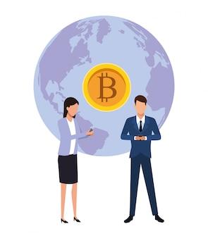 Bitcoin aziendale di criptovaluta