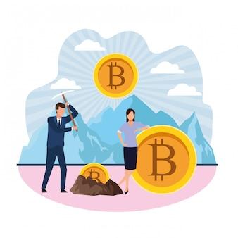 Bitcoin di estrazione digitale