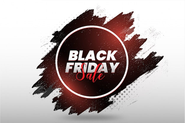 Black friday moderno con splash