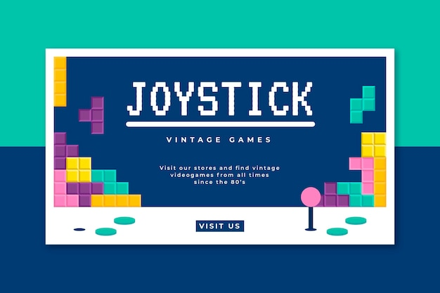Blog banner videogioco