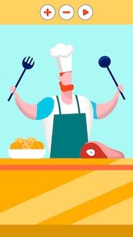 Blog di cibo su internet