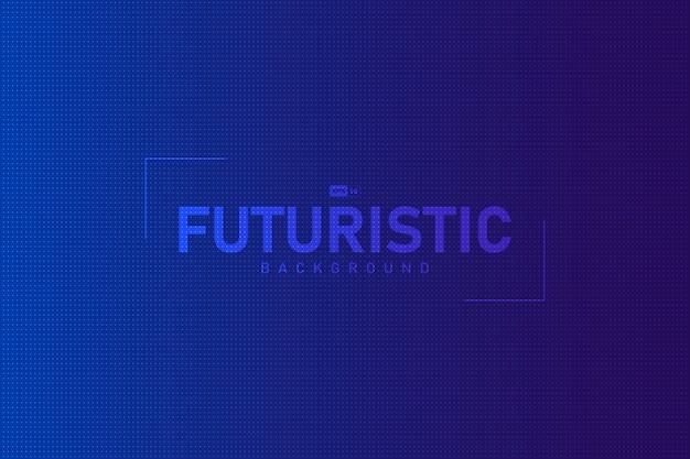 Blu astratto di pendenza con il fondo futuristico di progettazione del modello di punto.
