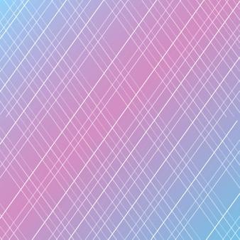 Blu e sfondo a strisce viola