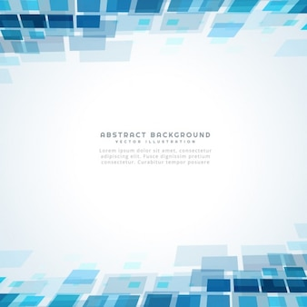 Blu mosiac sfondo quadrato