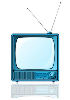Blu retro tv