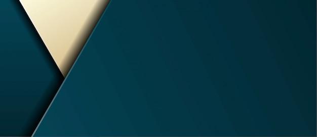 Blu scuro reale moderno astratto con strati sovrapposti banner sfondo
