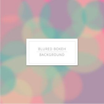 Blured sfondo con colori pastello