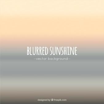Blurred sfondo sole