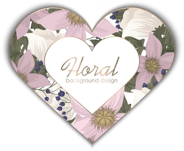 Boarder con fiori rosa