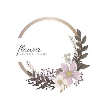 Boarder fower - fiore rosso