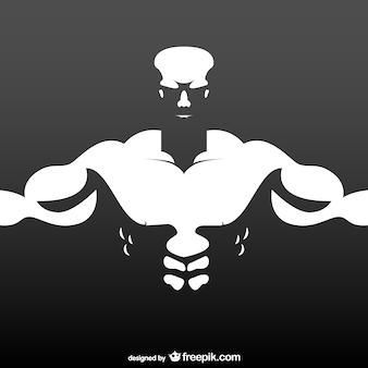 Bodybuilder illustrazione libero