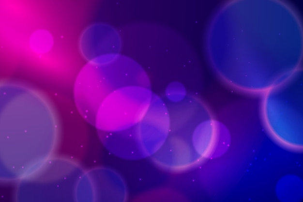 Bokeh effetto luci su sfondo scuro