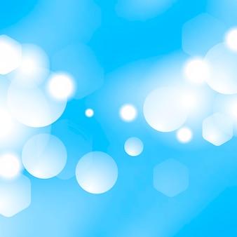 Bokeh sfondo blu
