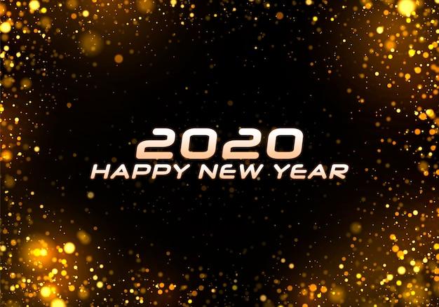 Bokeh sparkle sfondo natale 2020.