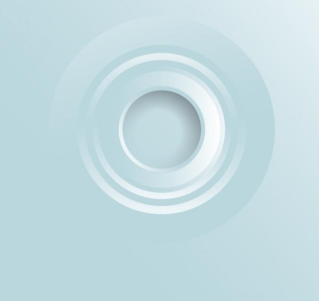 Bolla astratta di disegno di fotoricettore, vettore