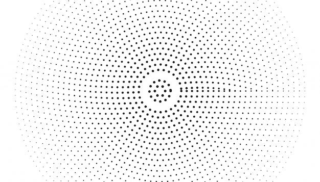 Bolla di sfocatura con texture astratta sfondo nero