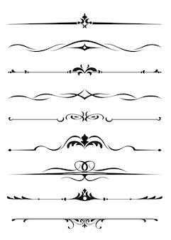 Bordi e monogrammi