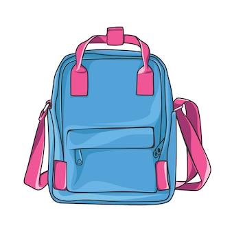 Borsa da viaggio backpacker casual carrier