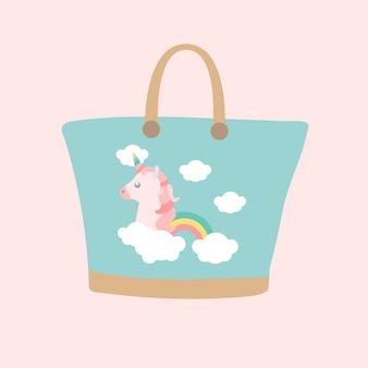 Borsa di unicorno