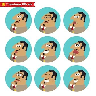 Boss emozioni facciali