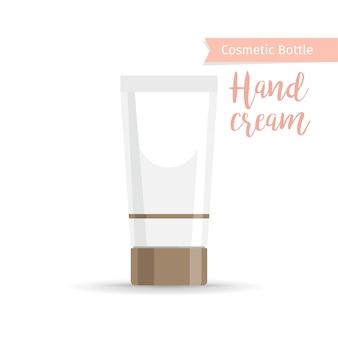 Bottiglia cosmetica per crema mani