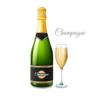 Bottiglia di champagne