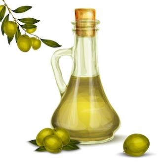 Bottiglia di olio d'oliva