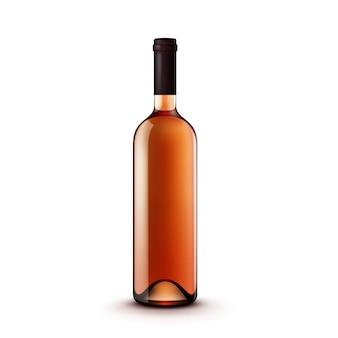 Bottiglia di vino vetro vettoriale