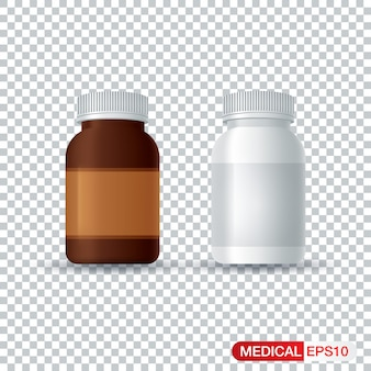 Bottiglie di medicina