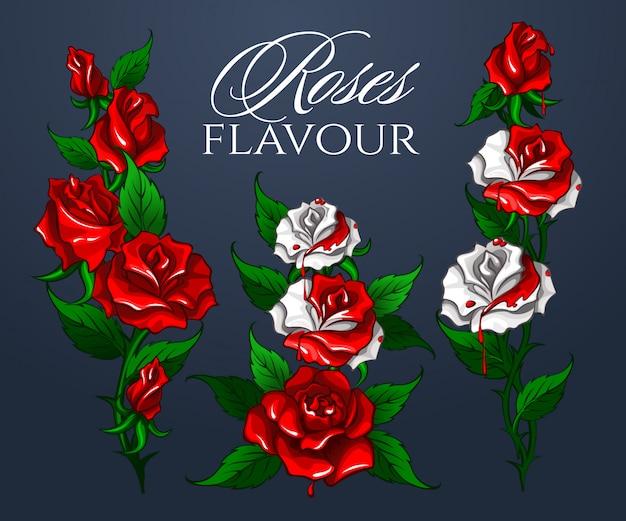 Bouquet di rose aromatizzate