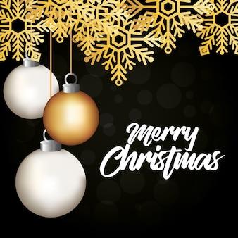 Brillante cartolina natalizia