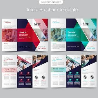 Brochure aziendale a tre ante