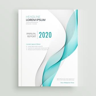 Brochure aziendale professionale o modello di copertina del libro