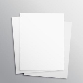 Brochure aziendali, mock up