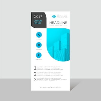 Brochure business design moderno