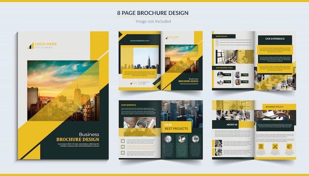 Brochure di 8 pagine
