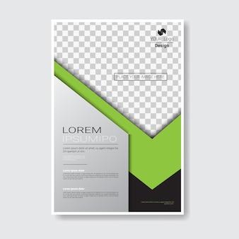 Brochure di design del modello