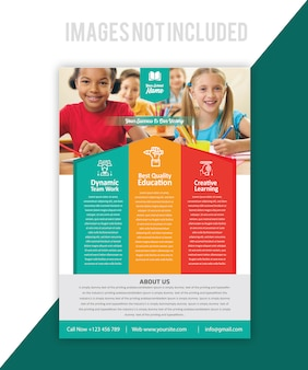 Brochure di educazione