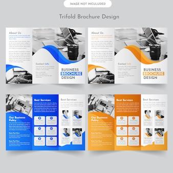 Brochure economica a tre ante
