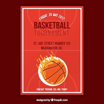 Brochure torneo di basket