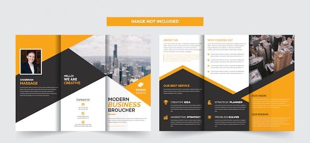 Brochure tri-business aziendale
