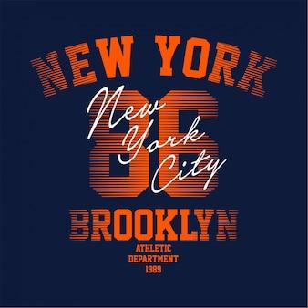 Brooklyn - t-shirt grafica