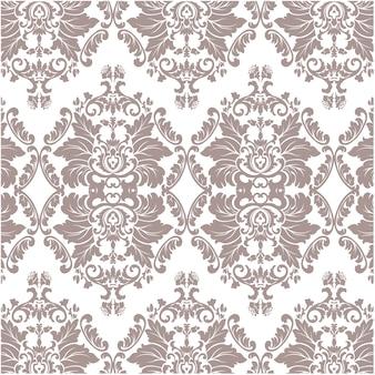 Brown motivo ornamentale di lusso di sfondo