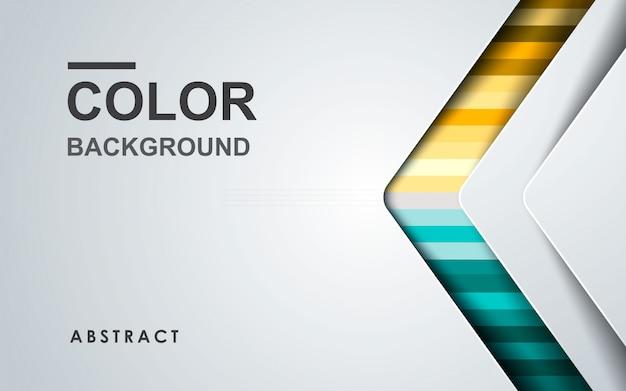 Bstract sfondo colorato con strato di sovrapposizione