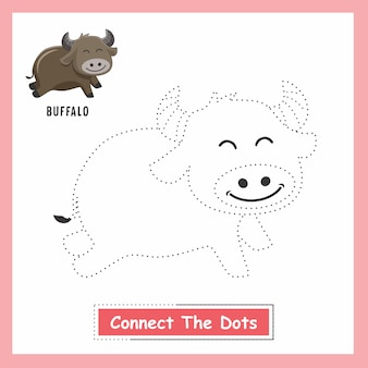Buffalo draw connect the dots