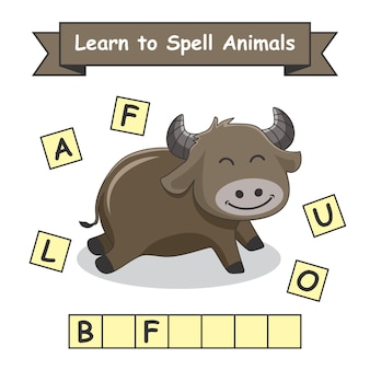 Buffalo impara a sillabare gli animali