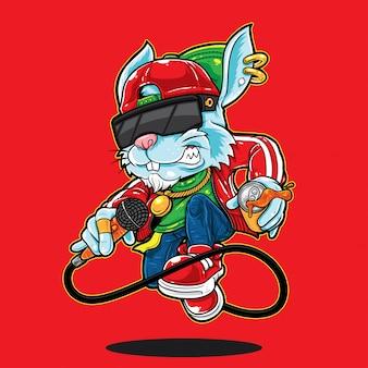 Bunny Hip Hop Style